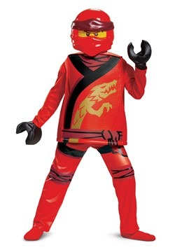 Child's Ninjago Kai Legacy Deluxe Costume