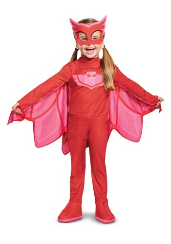 Toddler PJ Masks Owlette Deluxe Light Up Costume