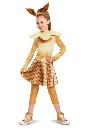 Girl's Pokemon Deluxe Eevee Costume
