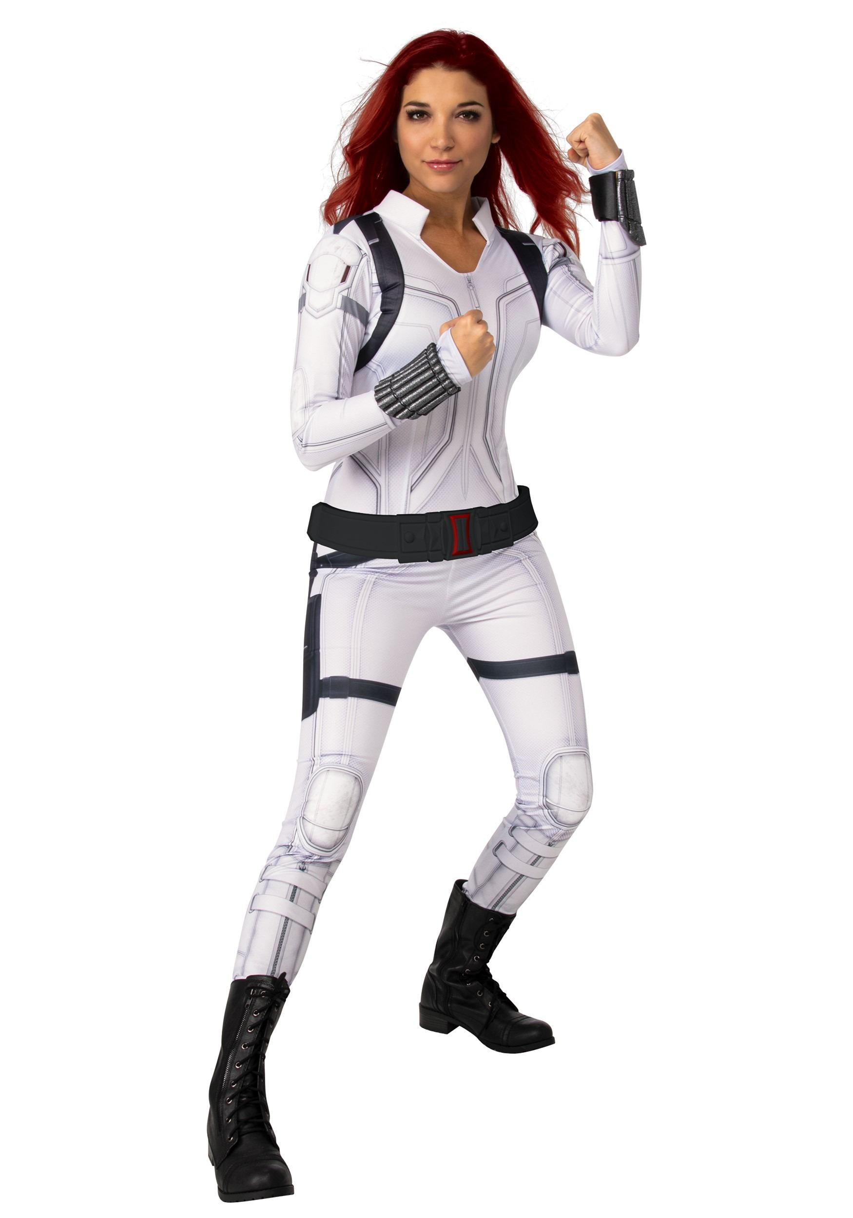 Black Widow White Costume for Women