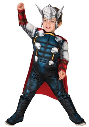 Classic Thor Deluxe Toddler Costume