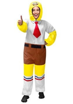 Spongebob Squarepants Adult Union Suit/Onsie