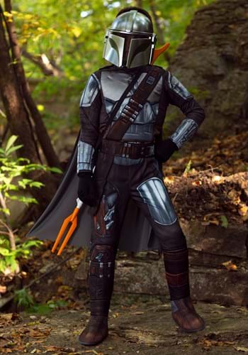 Mandalorian Beskar Armor Child Costume Main UPD