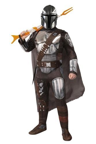 Mandalorian Beskar Armor Men's Costume