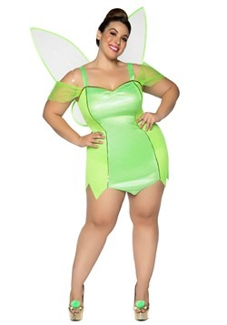 Womens Plus Size Pretty Pixie Costume