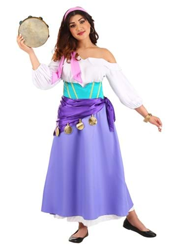 Hunchback of Notre Dame Womens Esmeralda Costume