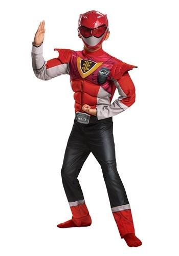 Power Rangers Classic Beast Morphers Child Red Ranger Power