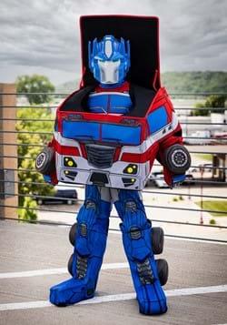 Boy's Transformers Converting Optimus Prime Costume main1