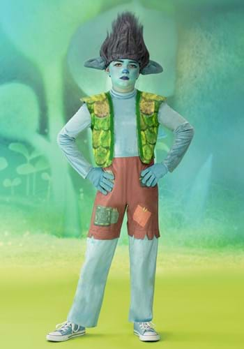 Trolls World Tour Boy's Deluxe Branch Costume