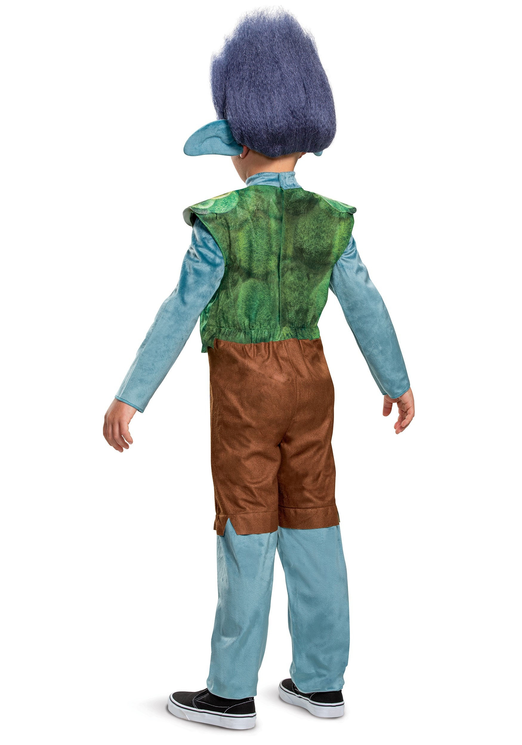Boy S Trolls World Tour Deluxe Branch Costume