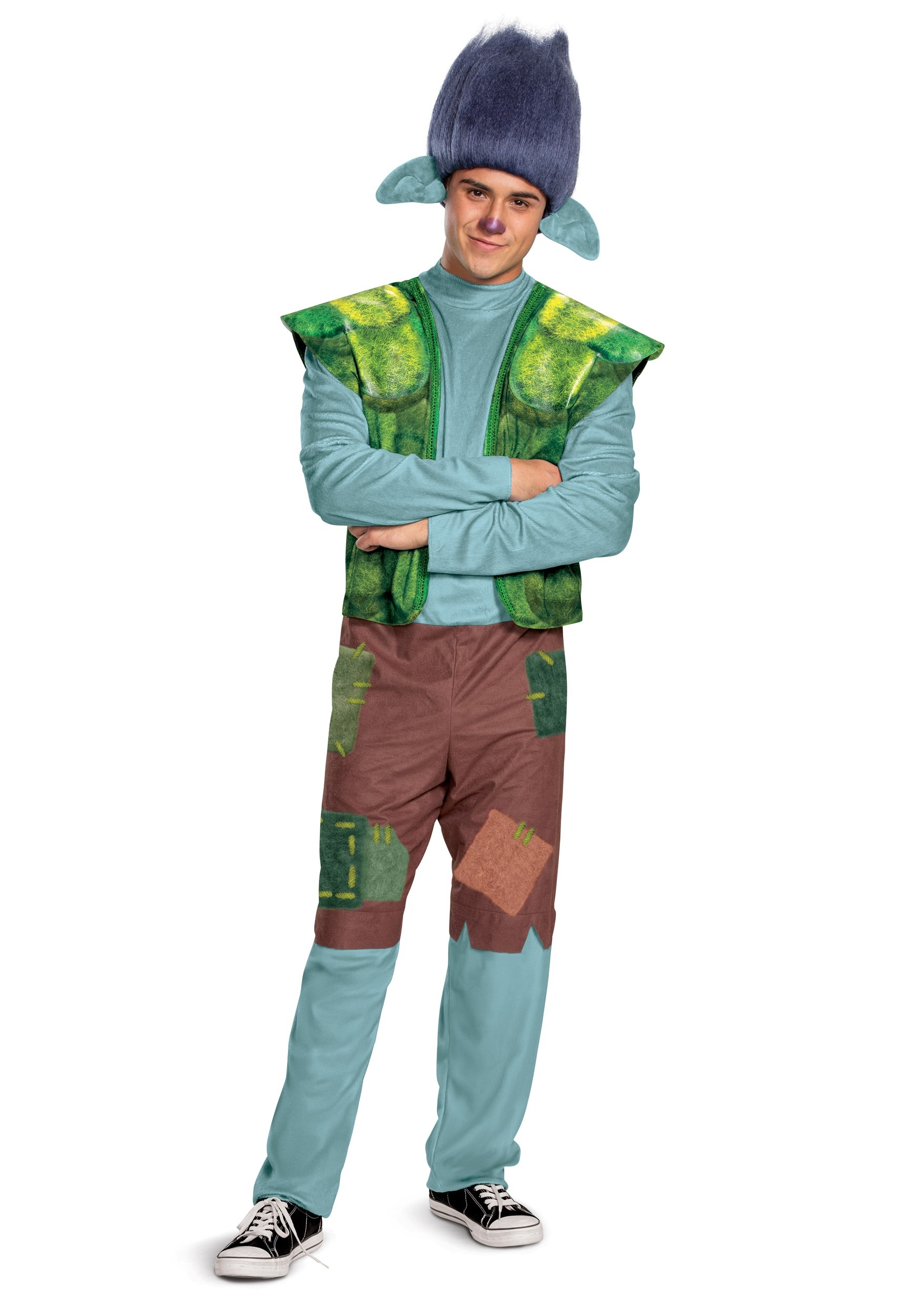 Men S Trolls World Tour Branch Costume