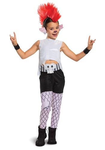 Trolls World Tour Girls Deluxe Barb Costume