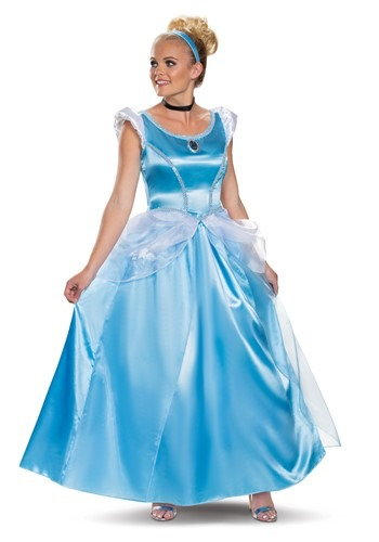 Deluxe Cinderella Costume for Adults