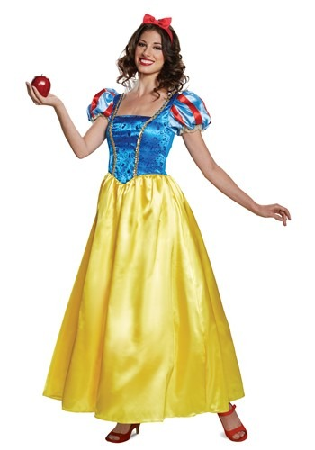 Deluxe Snow White Costume for Adults