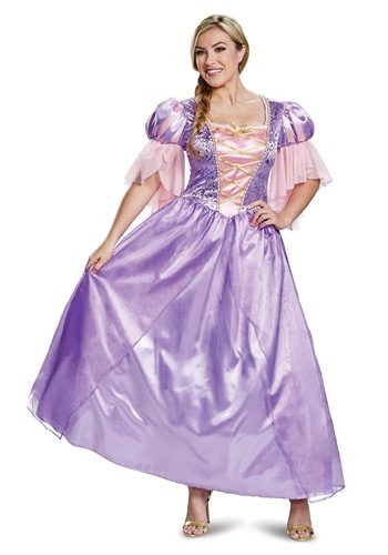 Tangled Adult Deluxe Rapunzel Costume
