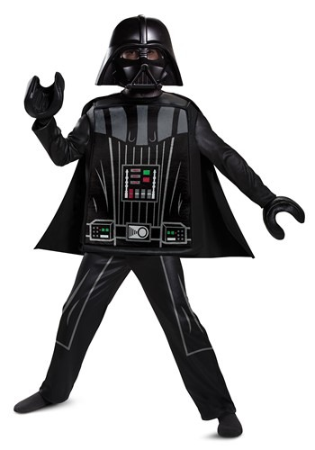 Lego Star Wars Boy's Deluxe Lego Darth Vader Costu