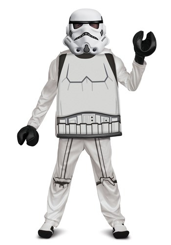 Lego Star Wars Boy's Deluxe Lego Stormtrooper Cost