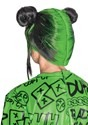 Billie Eilish Child's Green Double Bun Wig Alt 1