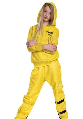 Billie Eilish Classic Yellow Costume for Kids