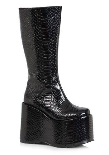 Womens Black Monster Boots