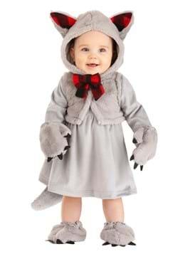 Girls Baby Wolf Costume