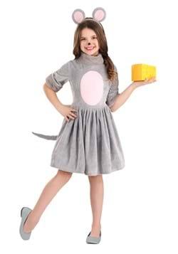 Girls Mouse Dress Costume