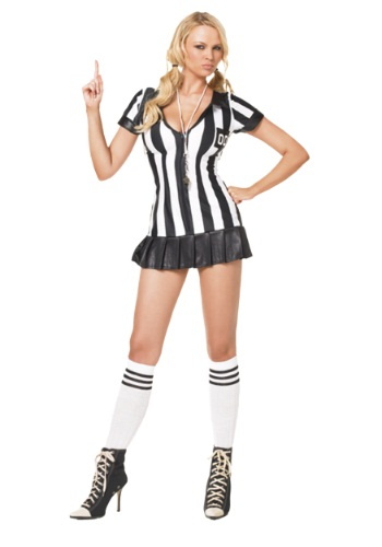 Sexy Referee Costume By: Leg Avenue for the 2015 Costume season.