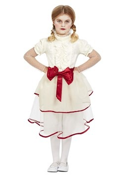 Girl's Creepy Doll Costume