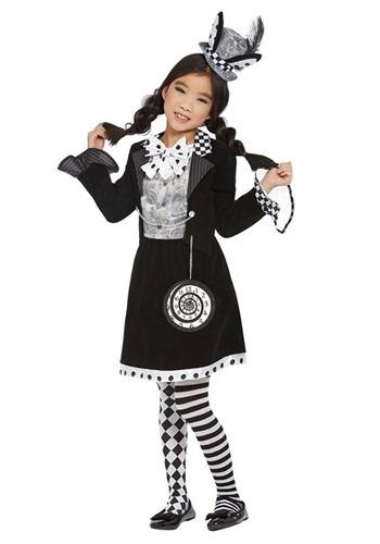 Girl's Dark Mad Hatter Costume