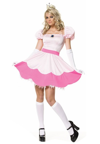 Click Here to buy Sexy Pink Princess Costume from HalloweenCostumes, USA Funds & Shipping