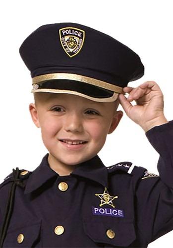 Child's Police Hat