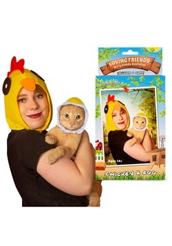 Chicken & Egg Owner & Pet Costume Kit
