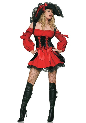 Adult Sexy Vixen Pirate Costume