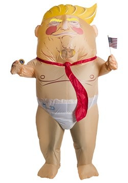 Adult Inflatable Overinflated Ego Politician Costu