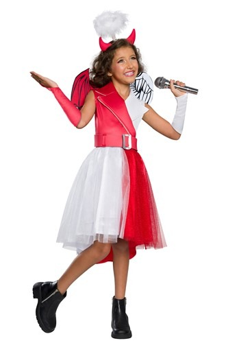 Girls Angel and Devil Dress Costume