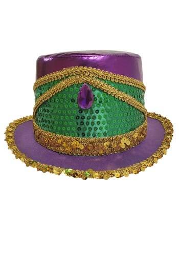 Mardi Gras Sequin Top Hat