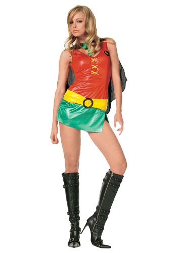 sexy female robin