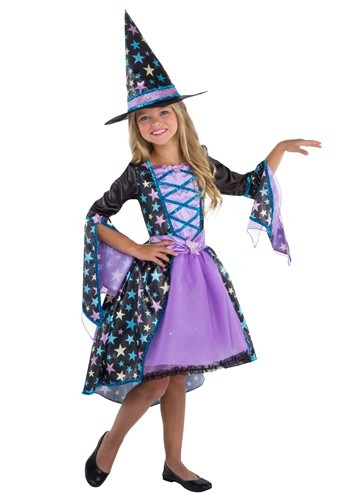 Girl's Pastel Candy Witch Costume