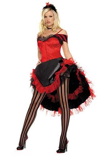 Sexy Saloon Girl Costume