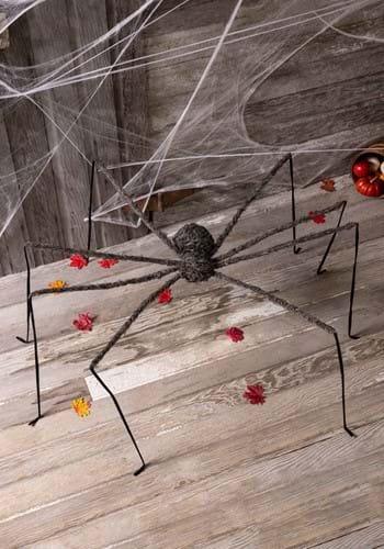 """90"""" Fuzzy Spider Decor"""