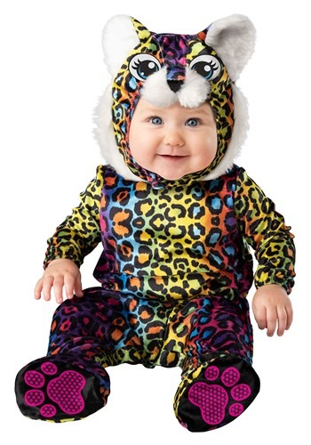 Infant Neon Leopard Cub Costume