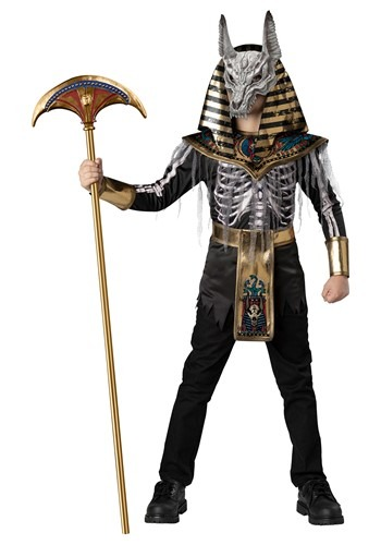 Boy's Anubis Skeleton Warrior Costume