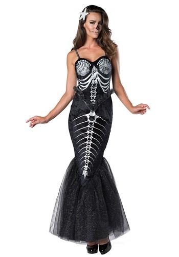 Skeleton Mermaid Costume for Women