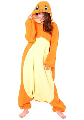 Pokemon Adult Charmander Plus Szie Kigurumi