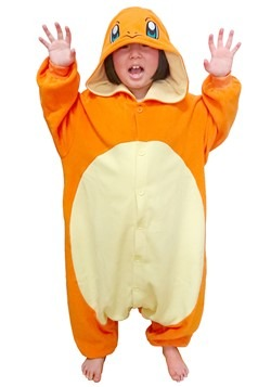 Pokemon Charmander Child's Kigurumi