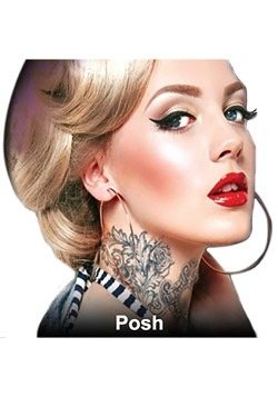 Posh Neck Tattoos