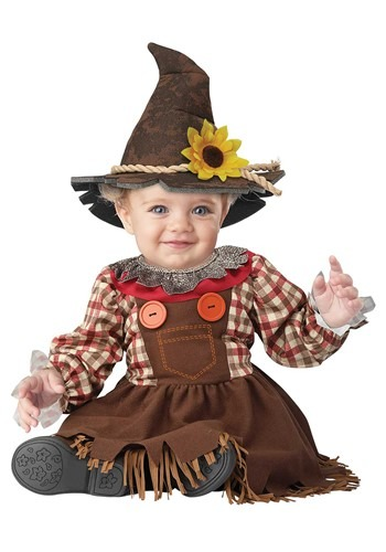 Sunny Scarecrow Costume for Infants