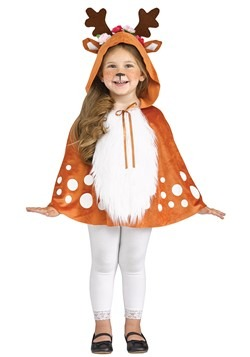 Toddler Deer Poncho