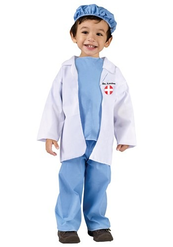 Toddler Dr Littles Costume