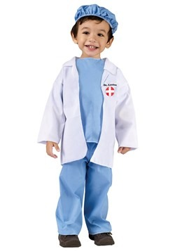 Toddler Dr Littles Costume